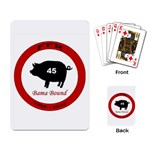 FFR deck of cards - Playing Cards Single Design (Rectangle)