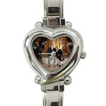 My Personalized Italian Watch! - Heart Italian Charm Watch
