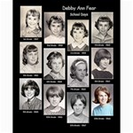 Debby School Days Collage - Collage 8  x 10