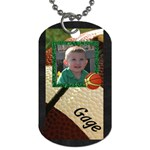 gagedogtag2 - Dog Tag (One Side)