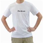 Everett - Men s T-Shirt (White) (Two Sided)