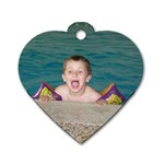 Connor and Lucas Heart tags!!! - Dog Tag Heart (Two Sides)