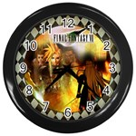 Final Fantasy Clock - Wall Clock (Black)