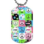 peace - Dog Tag (One Side)
