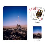 Cross on the mountain - Playing Cards Single Design