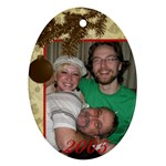Larry s Ornament - Ornament (Oval)