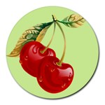 Cherry - Round Mousepad