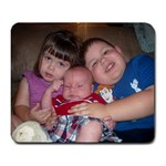 My three adorable children! - Large Mousepad