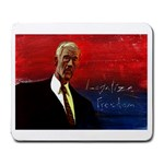 Ron Paul Legalize Freedom - Large Mousepad