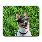 Teddy Smiling - Large Mousepad