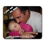 daddy mousepad - Collage Mousepad