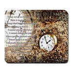 Redeeming the Time - Large Mousepad