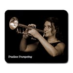 Truelove Trumpeting - Large Mousepad