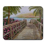 Stairway to The Beach - Large Mousepad
