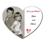Ty and Alyssa - Heart Mousepad