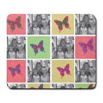 butterfly pad - Large Mousepad