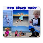 Shelly s Beach Trip Mousepad - Collage Mousepad