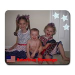 American Blessings - Collage Mousepad