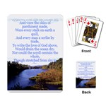 The love of God playing cards - Playing Cards Single Design (Rectangle)