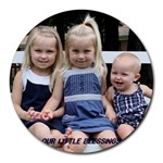schlicher girls mouse pad - Round Mousepad