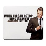 Barny Stinson - Large Mousepad