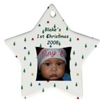 Blake1stXmas - Ornament (Star)
