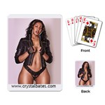 Black leather Jacket cards - Playing Cards Single Design