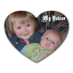kids - Heart Mousepad