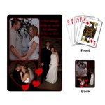 Wedding Playing Cards - Playing Cards Single Design (Rectangle)