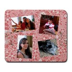 Lori pink mousepad - Collage Mousepad
