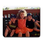 ocean city - Large Mousepad