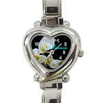 Watch I made for one of the Gals in my wedding - Heart Italian Charm Watch