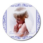 Kiley Angel - Collage Round Mousepad