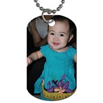 ella tag - Dog Tag (Two Sides)