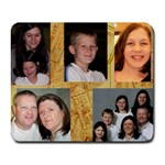 Pope Family mousepad - Collage Mousepad