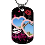 love tag - Dog Tag (One Side)