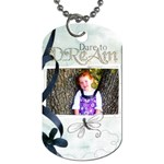 kiras tag - Dog Tag (One Side)