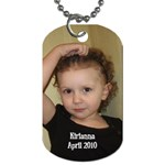 April 2010 dogtag 2 - Dog Tag (Two Sides)