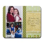 Mother/Daughter - Collage Mousepad