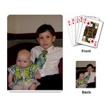 Bryce & Alex 1 - Playing Cards Single Design