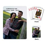 Wedding card - Playing Cards Single Design (Rectangle)