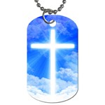cross - Dog Tag (Two Sides)