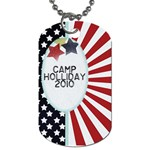 camp holliday2 - Dog Tag (One Side)