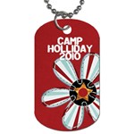 camp holliday3 - Dog Tag (One Side)