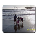 cali mousepad - Large Mousepad
