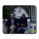 My Parents (loves them very much& misses them. - Large Mousepad