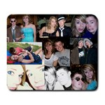Alyssa and Dave mousepad collage - Collage Mousepad