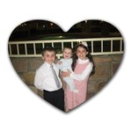 my kids - Heart Mousepad