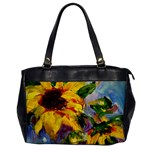 Single Sunflower - Oversize Office Handbag