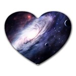 Space Heart - Heart Mousepad